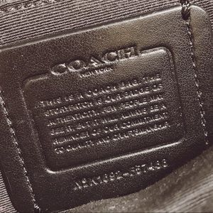 Coach Bags - COACH Leather Crossbody Bag/Tote